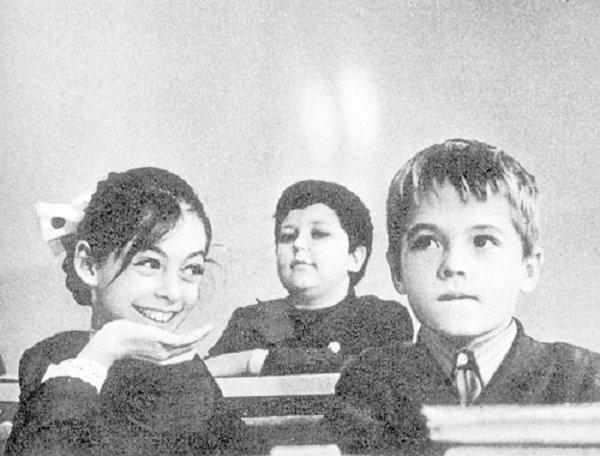 """Первые симпатии, первый """"треугольник""""  СССР, история, школа"""