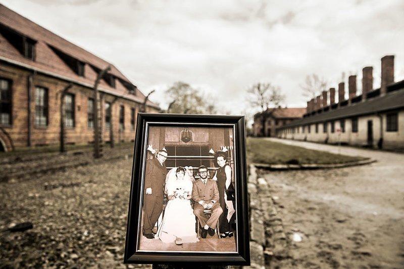 2-е поколение: дядя Ноама в день своей свадьбы выжившая, день памяти, освенцим, память жива, поколения, семья, фотопроект, холокост