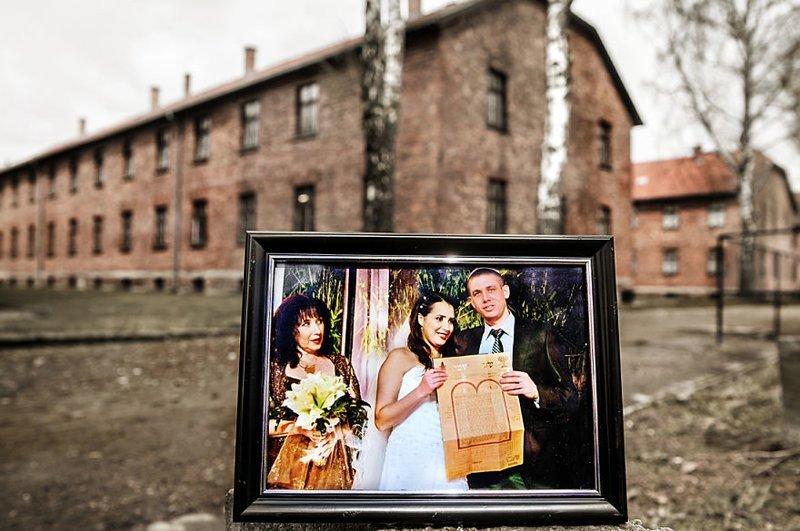 3-е поколение: сестра Ноама в день свадьбы выжившая, день памяти, освенцим, память жива, поколения, семья, фотопроект, холокост