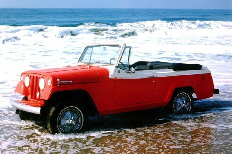 Jeep Jeepster Commando jeep, авто, автомобили