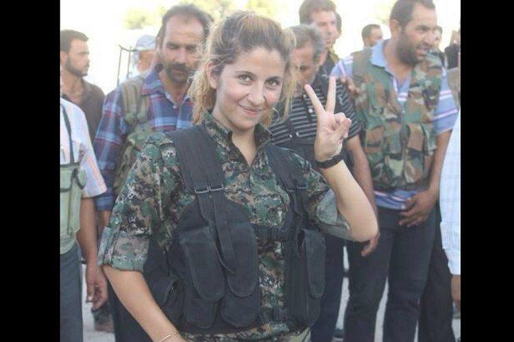 """""""Ангел из Кобани"""", убившая сто боевиков ИГИЛ газетные утки, дутые сенсации, истории, непроверенные факты, фальшивки, фальшивые новости, фото, фотограии"""
