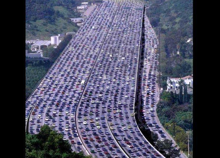 Самая длинная в мире пробка на Национальном шоссе 110 в Китае газетные утки, дутые сенсации, истории, непроверенные факты, фальшивки, фальшивые новости, фото, фотограии