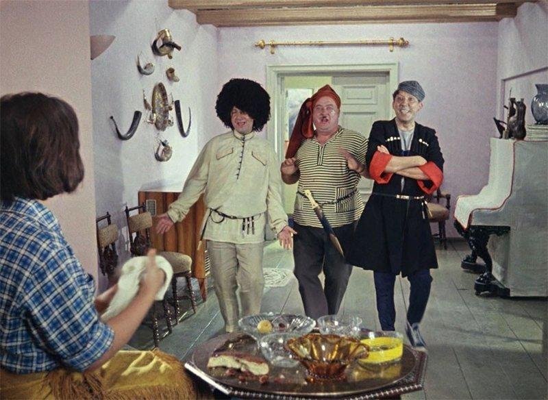 """""""Kidnapping Caucassian Style"""" зарубежные названия, комедии, леонид гайдай, советские фильмы"""