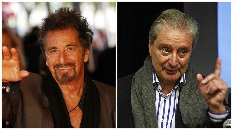 Аль Пачино и Вениамин Смехов голливуд, двойники, знаменитости, похожие, сравнение, сходство