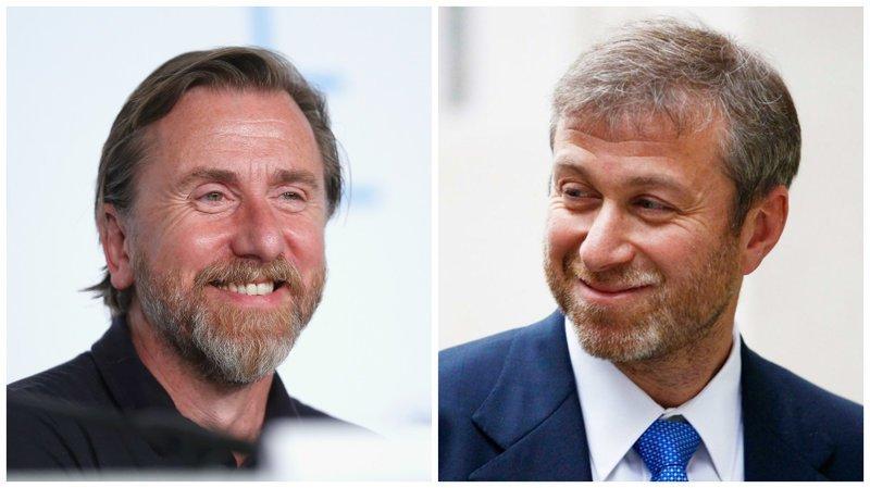 Тим Рот и Роман Абрамович голливуд, двойники, знаменитости, похожие, сравнение, сходство