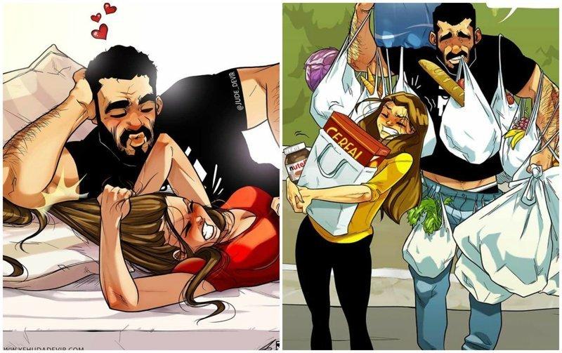 Комикс на русском жена