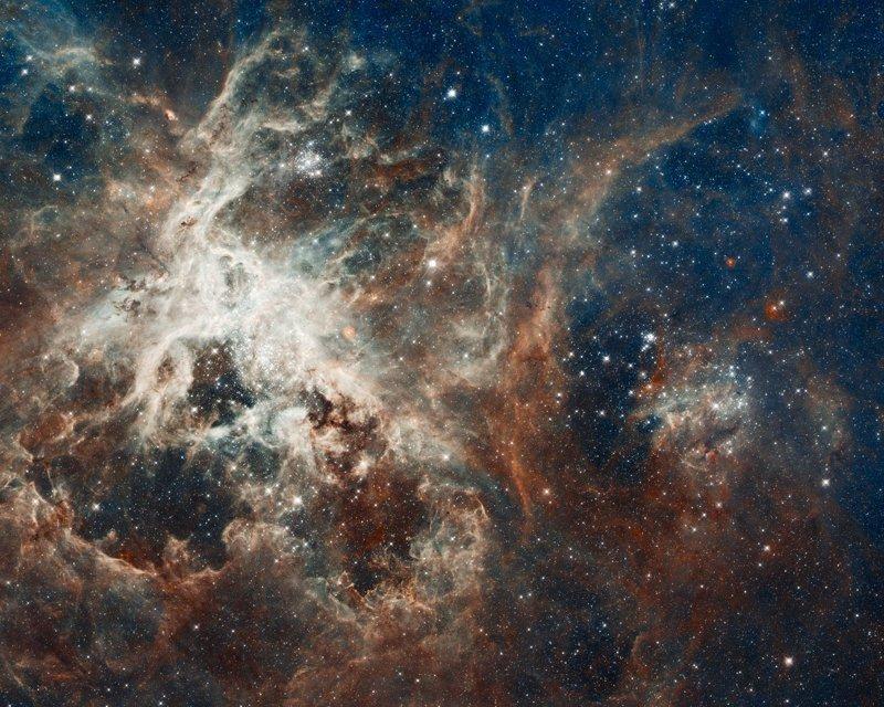 """Звездные """"ясли"""" туманности, где постоянно образуются новые крупные светила интересное, космос, красота, наука, фото"""