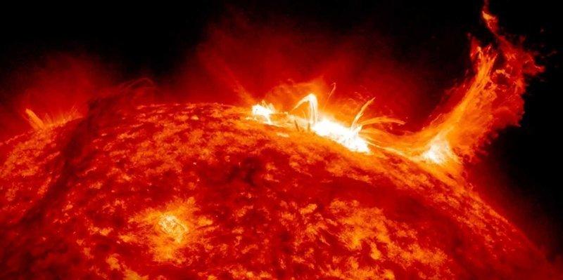 Наше Солнце интересное, космос, красота, наука, фото
