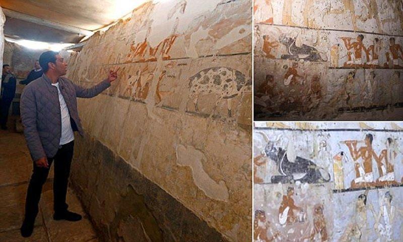 В Египте нашли новую гробницу возрастом 4400 лет