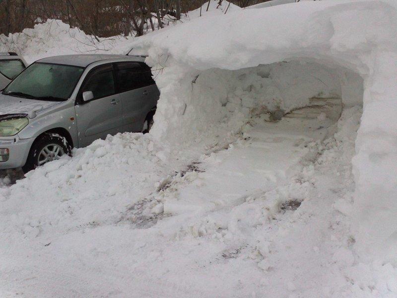 Когда давно мечтал о гараже... зима, казань, москва, погода, прикол, санкт- петербург, снег, юмор