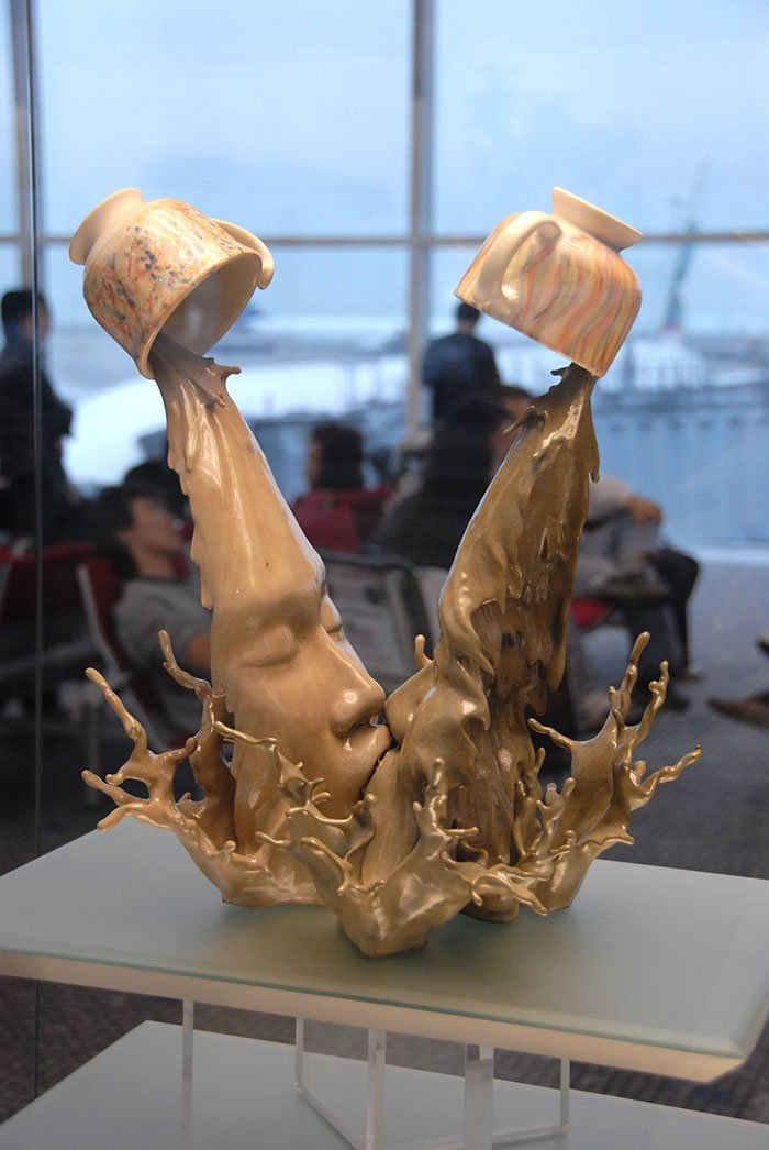Coffee kiss, Johnson Tsang