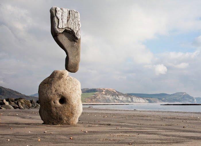 Balancing stones, Adrian Gray