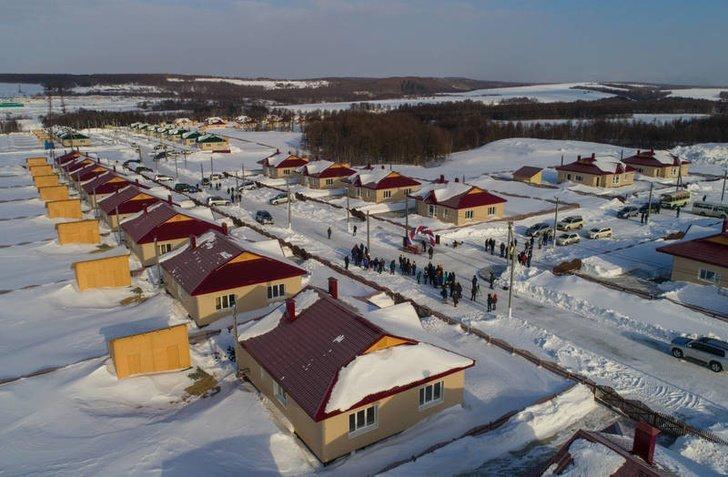 Новый агрогородок открылся на Сахалине