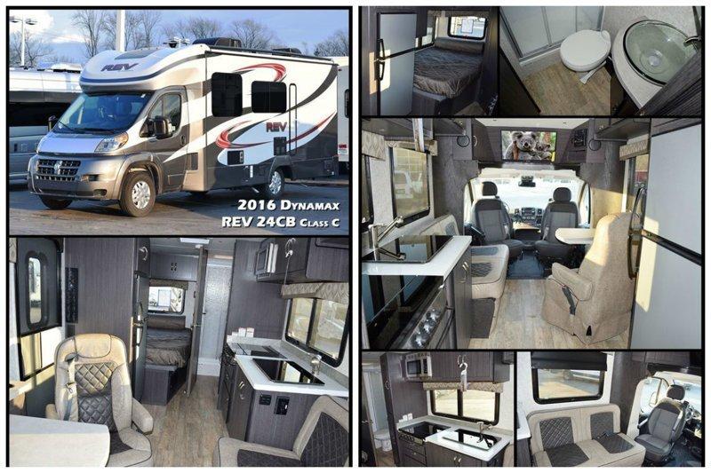 2016 Dynamax REV 24CB Class C автомир, дома на колесах, красота, удобство, чудеса