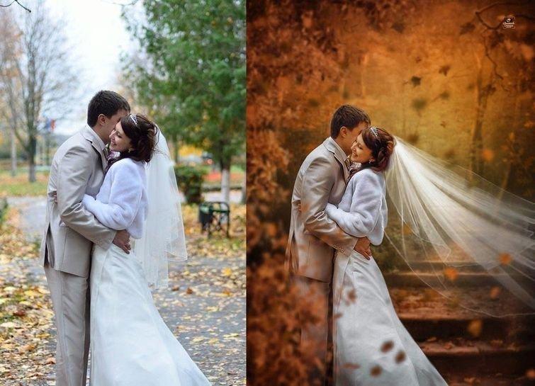 обработка свадебных фото для начинающих кристина принимают поздравления