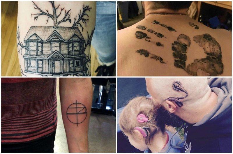Татуировки со смыслом секс