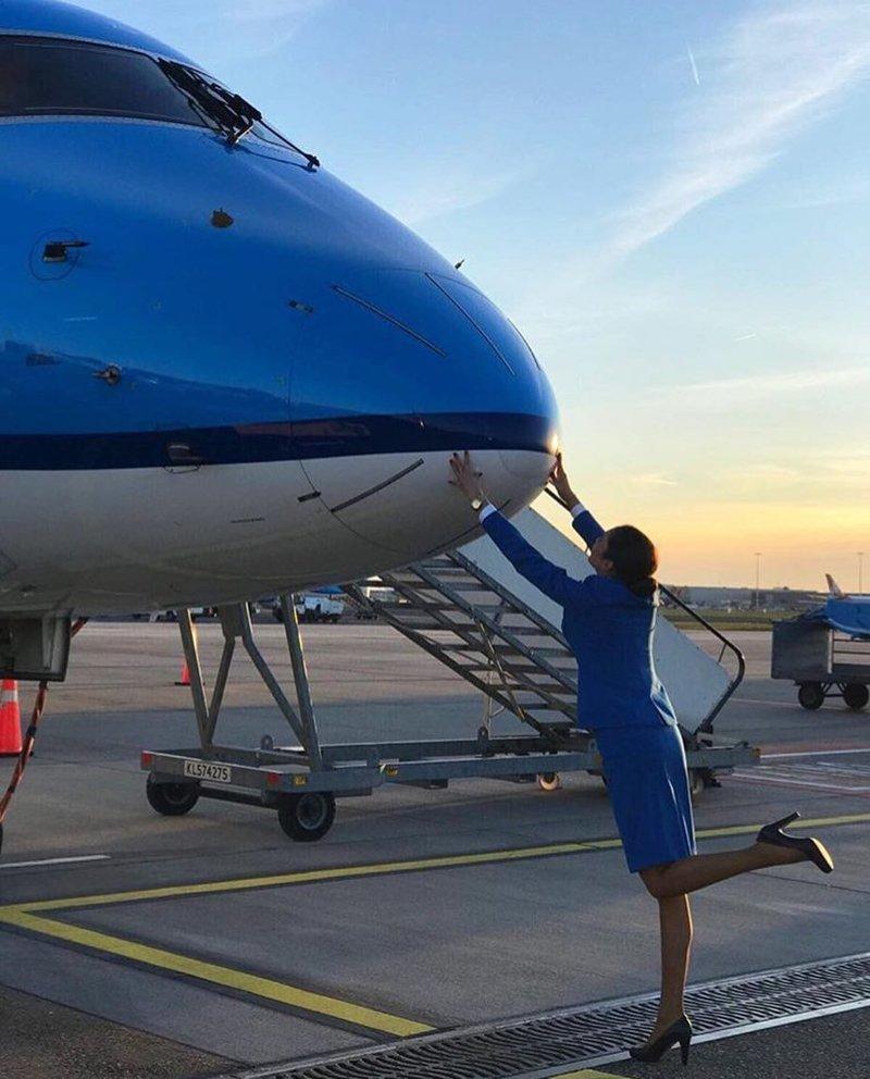 KLM, Нидерланды авиакомпании, авиакомпании мира, женщины, красивые стюардессы, самолёты, стюардесса, стюардессы
