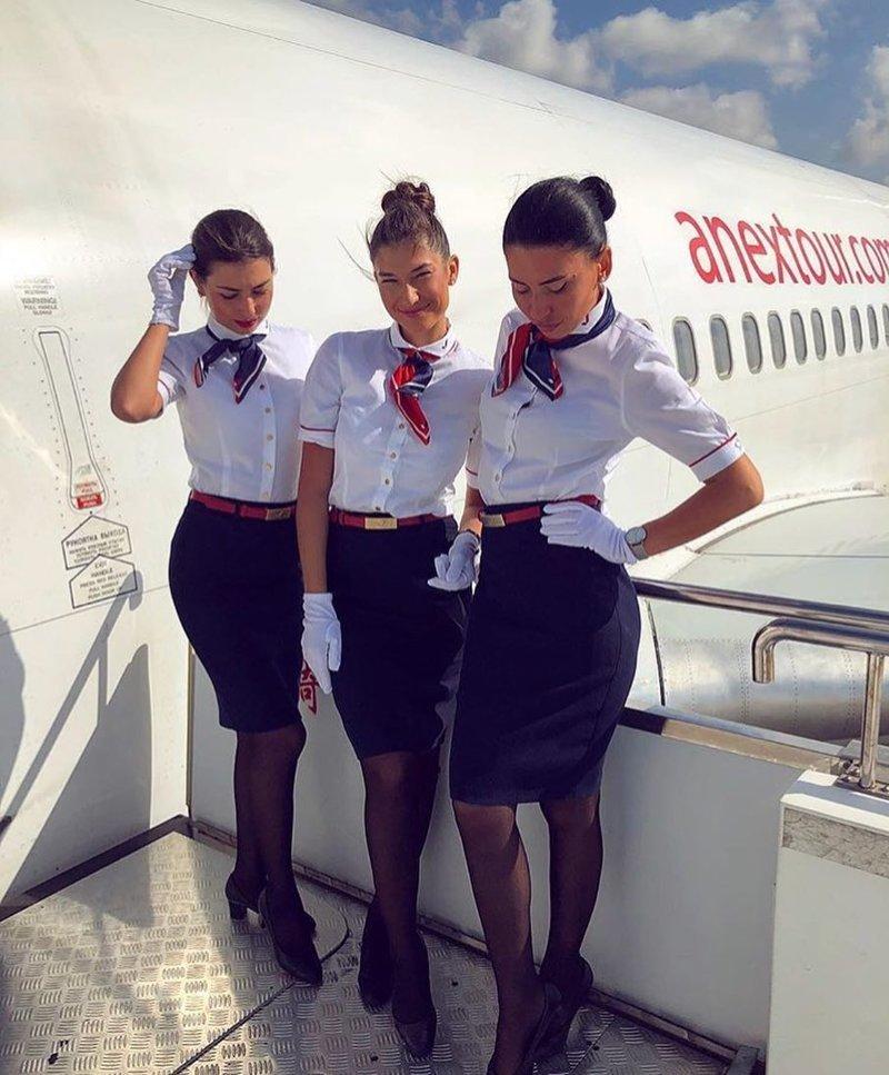 """Авиакомпания """"Ямал"""", Россия авиакомпании, авиакомпании мира, женщины, красивые стюардессы, самолёты, стюардесса, стюардессы"""