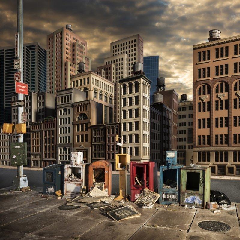 Какво би изглеждал нашият свят, ако апокалипсисът дойде апокалипсис, живот след катастрофата, интересни, фотографии, фотографи