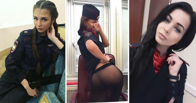 Голые фото девушек которые работают в милиции