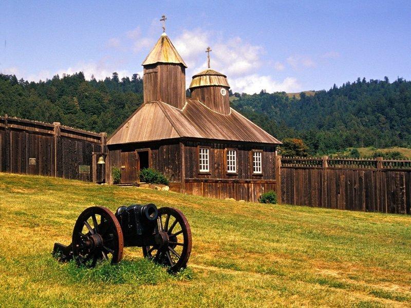 Поселение Форт-Росс  на побережье северной Калифорнии Земли, интересное, история, колонии, политика, россия, страны, упущенные