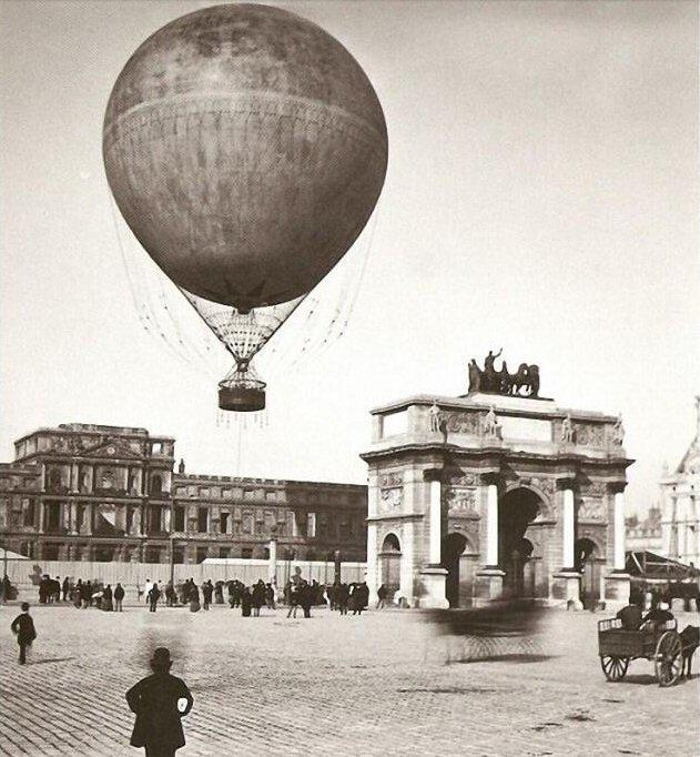 4. Гонки на воздушных шарах во Франции были в 1900 году интересно, олимпиада, спорт, фото