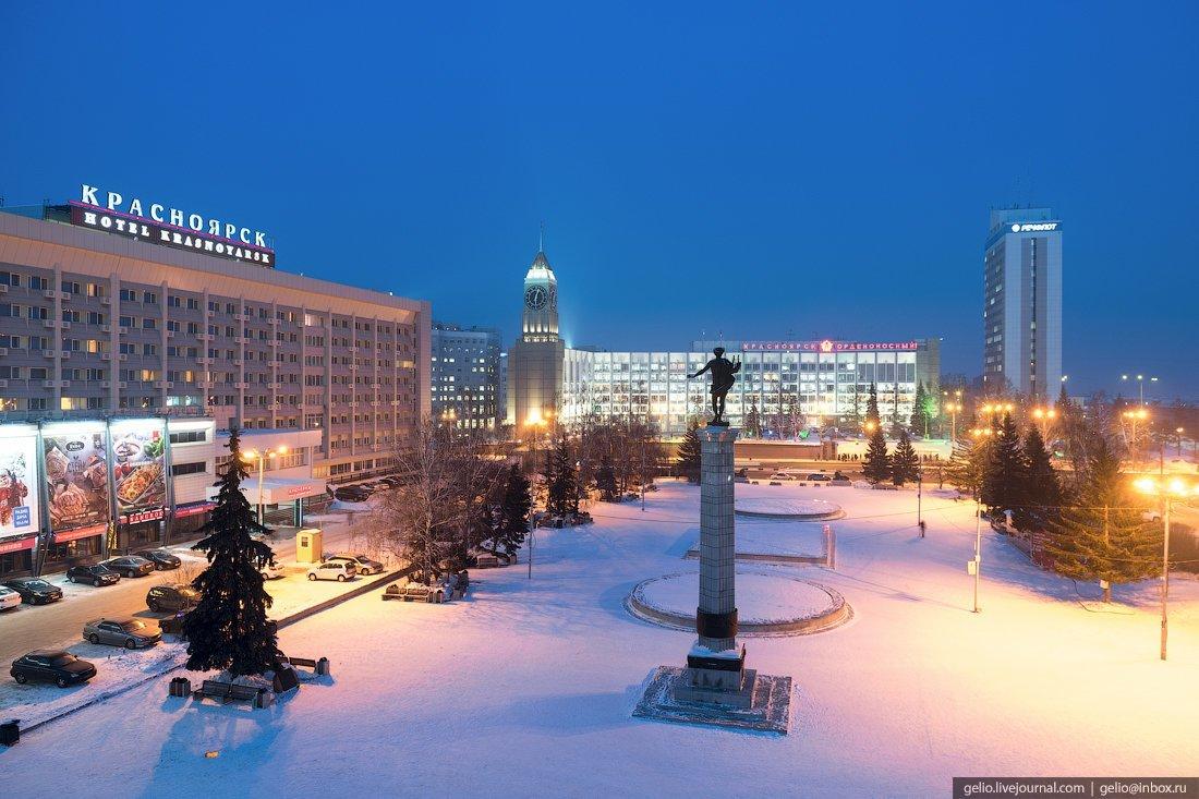 объявления красноярск фото города зимой ягод