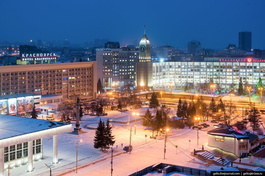 красноярск сейчас фото вечерний образ помогут