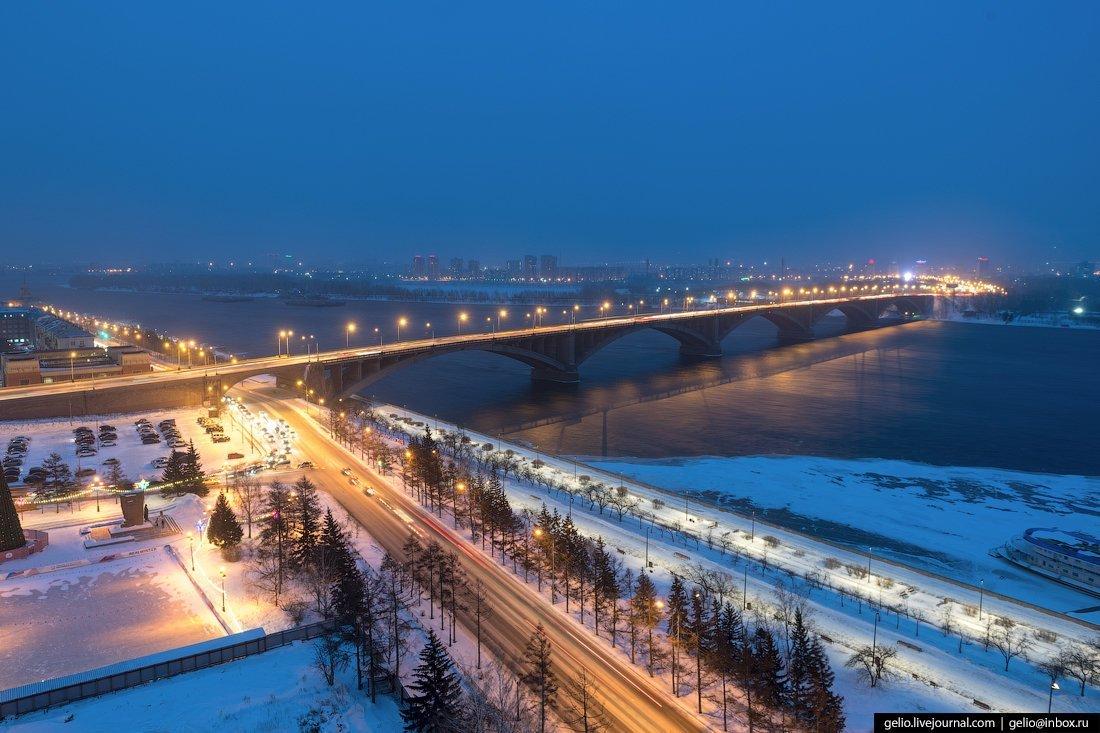 Фотографии зимнего красноярска дело