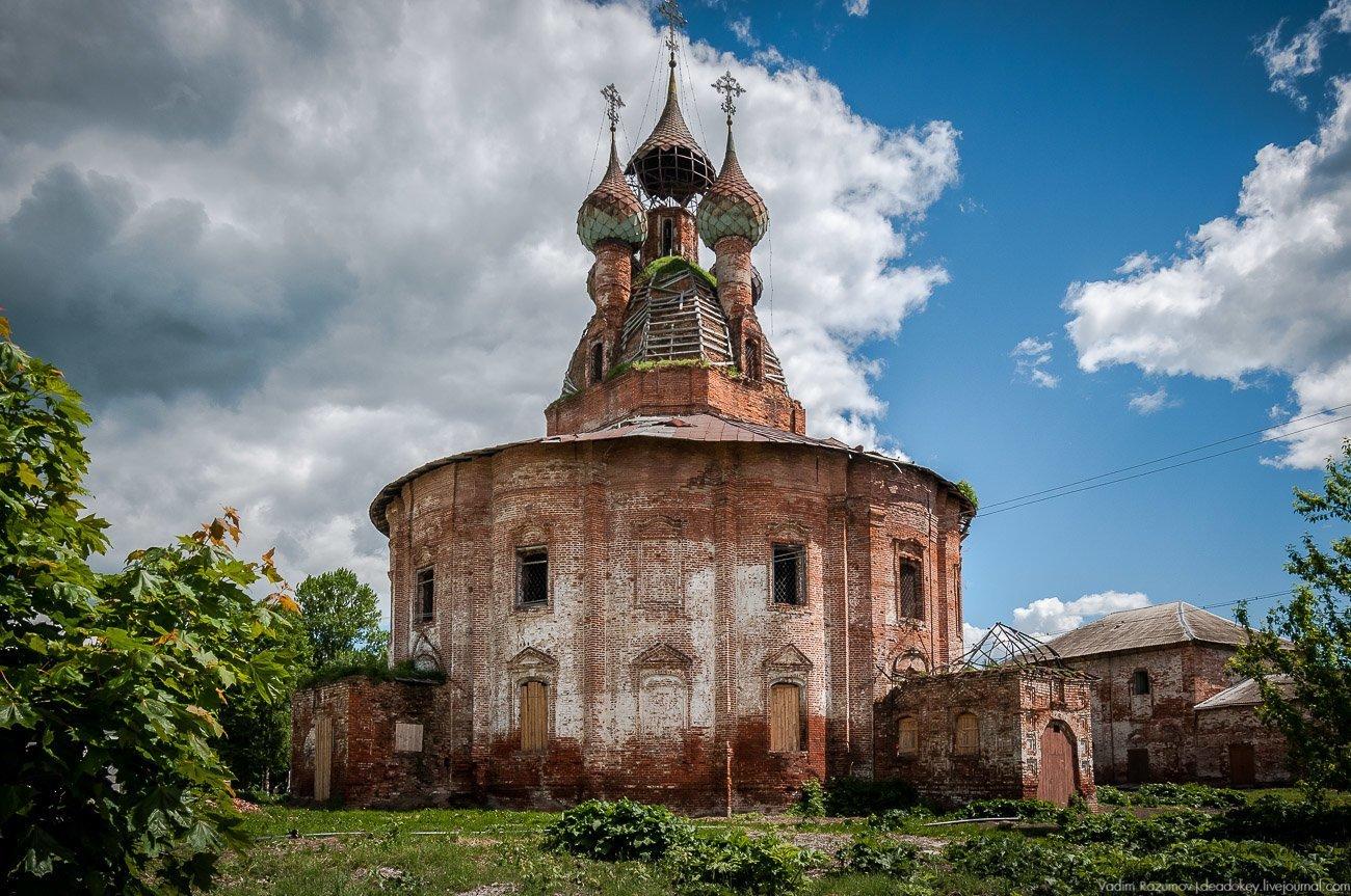 церкви ярославской области фото марли аккуратно