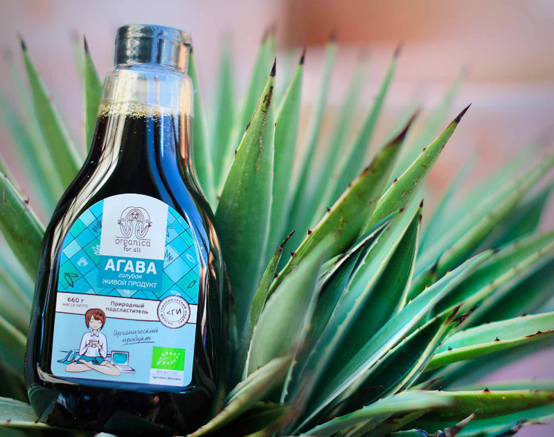 Сироп из агавы — это безопасный подсластитель еда, ложные факты, суперпродукты