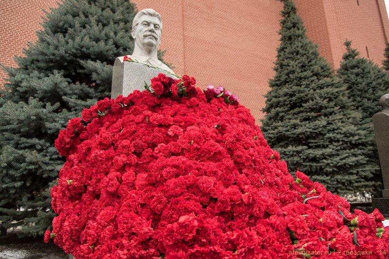 Две гвоздики товарищу Сталину. 5 марта 2018 года