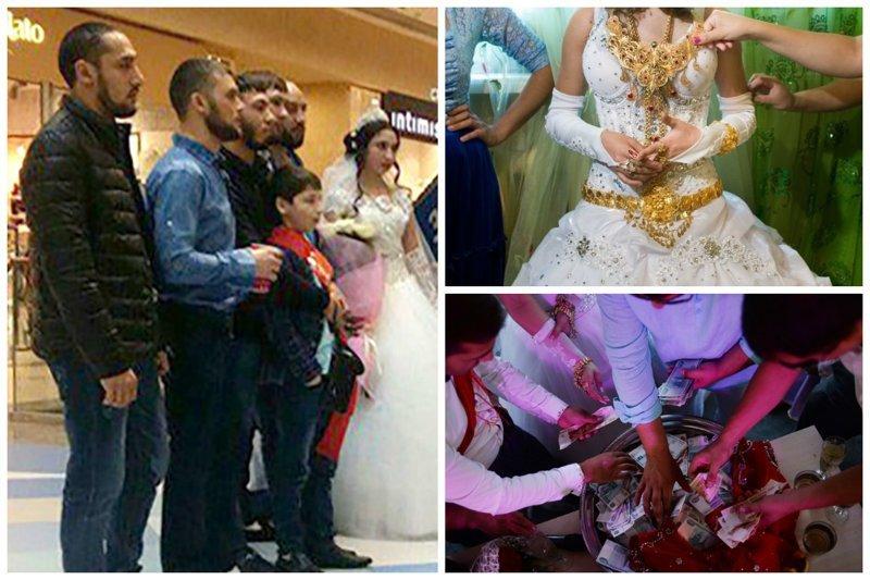 Парень валяется под платьем у невесты, парень снимает как его девушка сосет