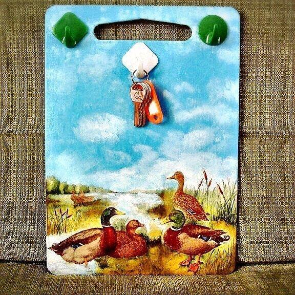 Ключница из старой доски вместо свалки, вторая жизнь, вторая жизнь вещей, креатив, отличная идея, повторное использование
