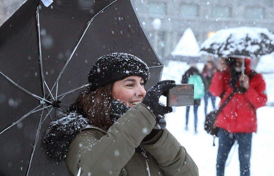 как фотографировать в снежную погоду обрезки фотографии