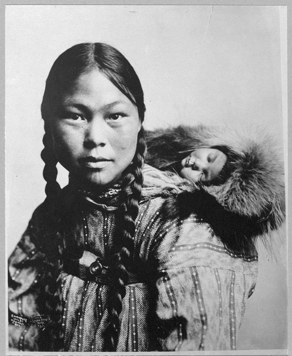 Eskimo woman 12