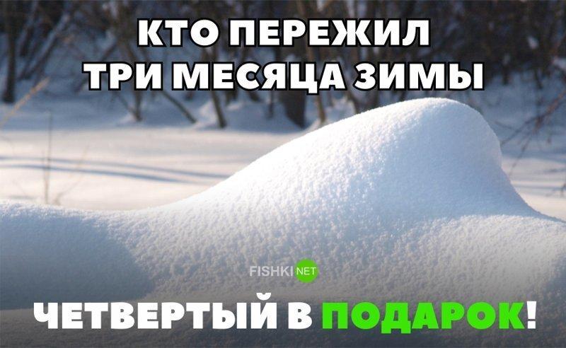Картинка зима не уходит