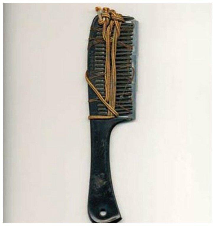 Инструмент для бритья Тюрьма, заключенные, зона, очумельцы, тюремные поделки