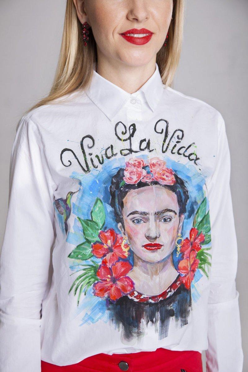 Искусство, которое можно носить: художница рисует красоту на рубашках креатив, рисунки, рубашки, ручная работа, своими руками, творчество, фото, хенд-мейд