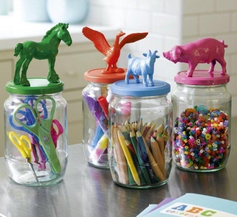 3. Еще один способ украсить детскую и познакомить ребенка с животным миром интересно, на все руки мастер, поделки, рукоделие, своими руками, старые игрушки, фото