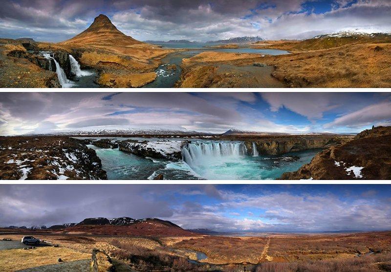 Панорамы завораживающе, исландия, красота, пейзажи, путешествия, фото, фотоотчет, фоторепортаж