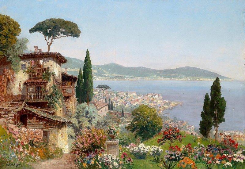 Австрийский мастер пейзажей Алоис Арнеггер алоис арнеггер, живопись, искусство, картины, пейзажи