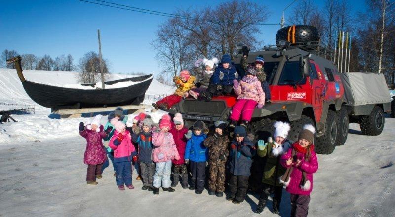 Вездеход «Шаман» отправился в экспедицию на Крайний север Лебёдушка, вездеход, шаман