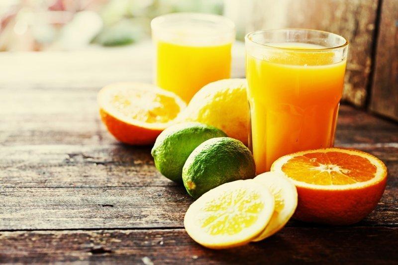 4. Фруктовый сок Пищевые добавки, вредная еда, здоровые, обман, трансжиры, шоколад
