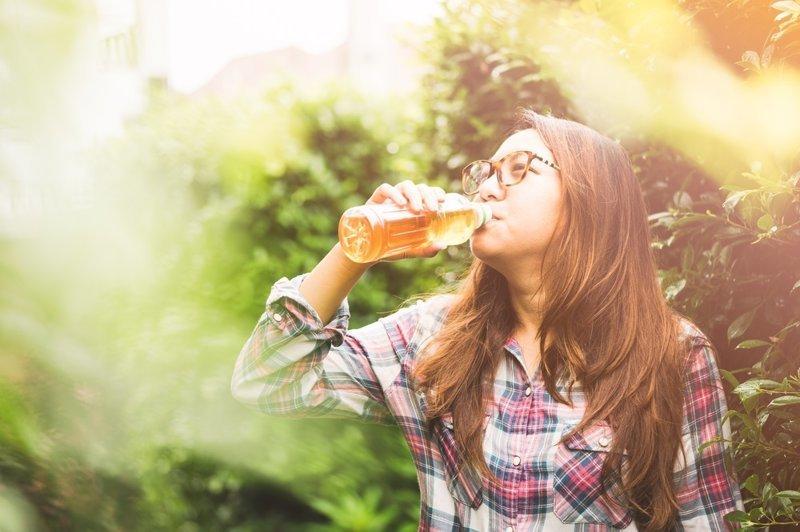 10. Чай в бутылках Пищевые добавки, вредная еда, здоровые, обман, трансжиры, шоколад
