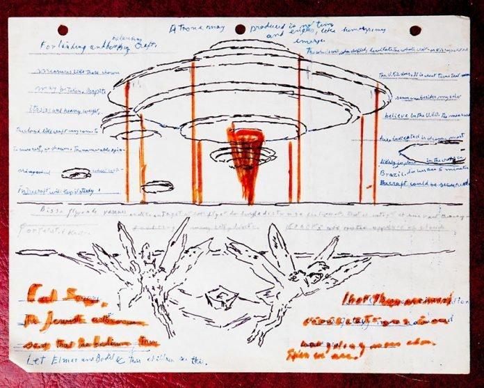 «А теперь сумасшедшие вещи: все это становится немного странным. Кажется, что художник заметил что-то в городе Тампа (штат Флорида) в 1977 году, и это потрясло его» в мире, вещи, находка, удивительно, ящик