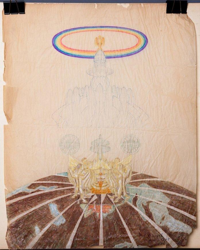 «Очевидное смешение религиозного и инопланетного» в мире, вещи, находка, удивительно, ящик