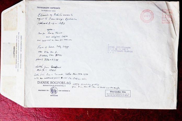 «Еще письмо. Возможно на датском или другом скандинавском языке» в мире, вещи, находка, удивительно, ящик