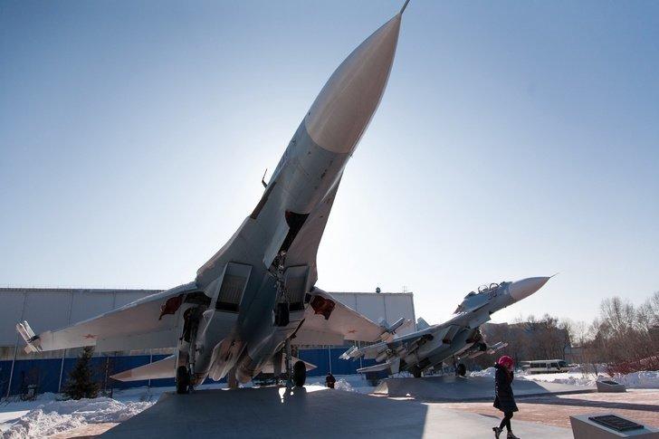 Место, где собирают лучшие в мире истребители авиастроение, авиация, истребители, россия