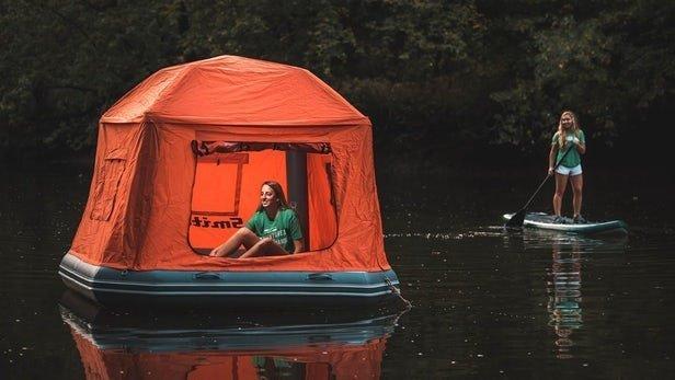10 небанальных палаток с «изюминкой», которые сделают ваш отдых особенным идеи, комфорт, отдых, палатка, природа, путешествие
